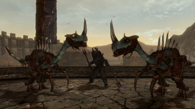 Verminous Fabricants - Mihail Monsters and Animals (mihail immersive add-ons - ESO - morrowind)