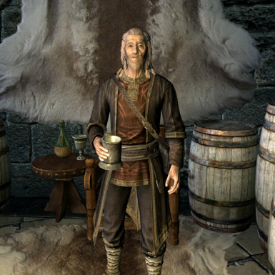 Tolfdir grey face fix for Immersive College of Winterhold