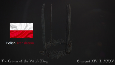 LOTR Crown of the Witch-King - Polish Translation