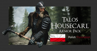 Talos Housecarl Armor Pack - Polish Translation