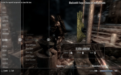 Arrow Crafting Example