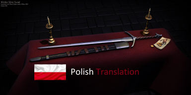 Witchers Silver Sword - Polish Translation