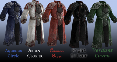 Psijic colors and styles added in 2-0-1