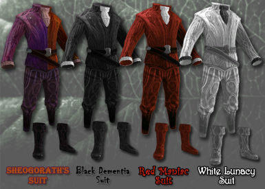 March Madness Update - Showcases all the Sheogorath suits