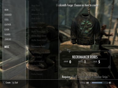 Actualize Apparel - Crafting Clothing at Skyrim Nexus - mods