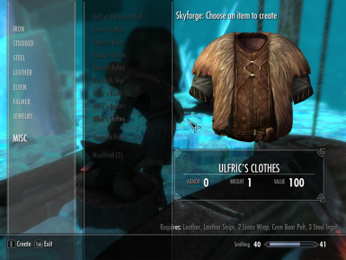 Ulfric Clothes