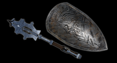 Mace and Shield Of The Insolent