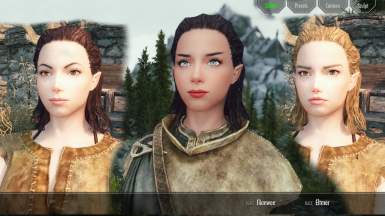 Female Presets - added in BETA3