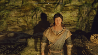 My testing male character