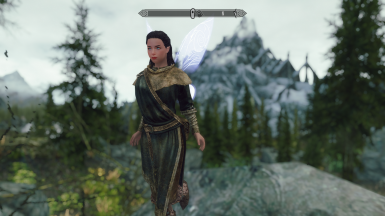My testing female character