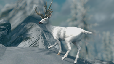 Deer Expansion - Elements of Skyrim (mihail immersive add-ons - oblivion - cyrodiil)