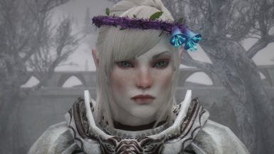 On my Snow Elf with Pale skintone