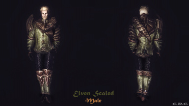 Elven Scaled Male