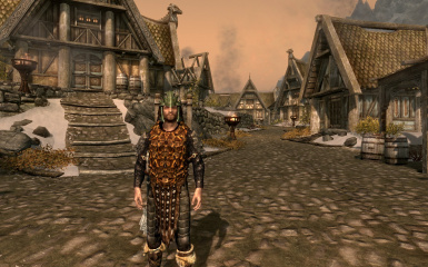 Morrowind Imperial Dragonscale Armor