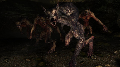 Undead Werewolves - Mihail Monsters and Animals (mihail immersive add-ons- ESO - Witcher)