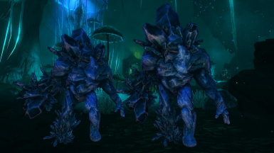 Crystal Golems -Mihail Monsters and Animals (mihail immersive add-ons -blackreach- dark souls)