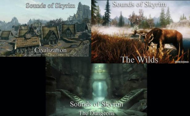 Sounds of Skyrim Complete LE
