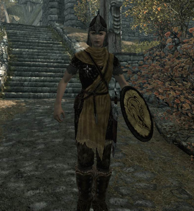 On patrol in Whiterun
