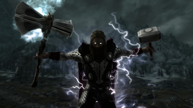 Heart Of Thunder Ragnarok Edition Thor S Armour Mjolnir And Stormbreaker At Skyrim Nexus Mods And Community