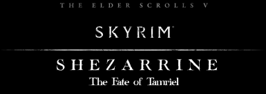 Shezarrine - The Fate of Tamriel - Prologue