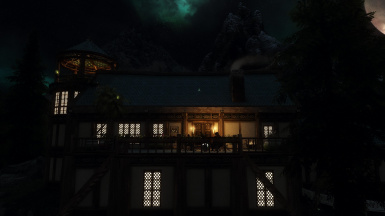 Porch by Night