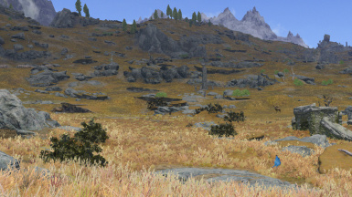 Skyrim Flora Overhaul No LOD Shrubs at Skyrim Nexus - mods