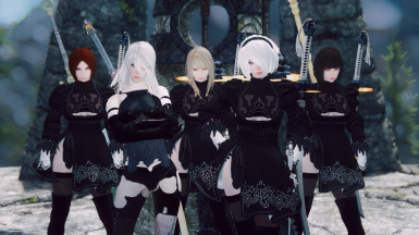 GK YoRHa + Other MODs (Please do not ask for details!)