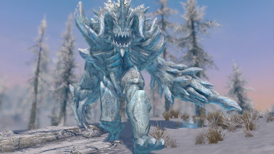 Ice Golem- Mihail Monsters and Animals (mihail immersive add-ons- atronach- arena)