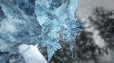 Edit the mesh to use Glacier Slab's texture