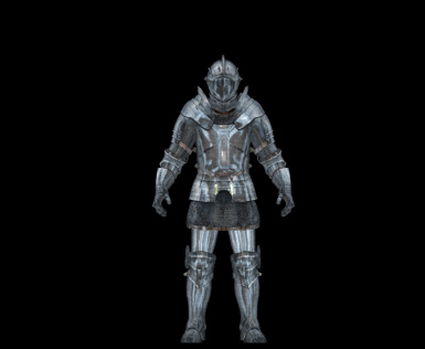 Male Knight front  version 1.2