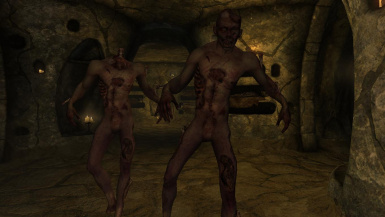 Zombies- Mihail Monsters and Animals (mihail immersive add-ons- undead- oblivion)