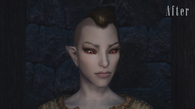 Dunmer - After (With Modded Normals)