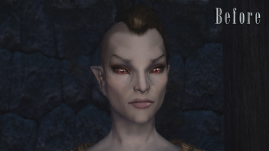 Dunmer - Before (With Vanilla Normals)