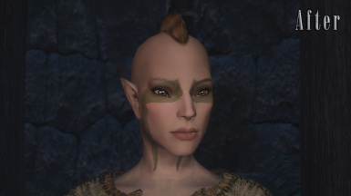 Bosmer - After (With Modded Normals)