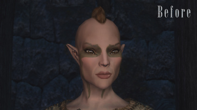 Bosmer - Before (With Vanilla Normals)