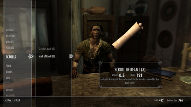 Scroll of Mark and Recall