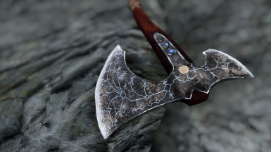 Ghosu's Leviathan Axe - Retexture by Akarsil
