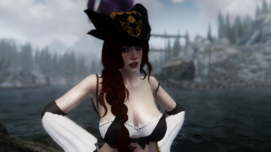 Miss Fortune Armour and Hairdo - UUNP UNPB w Physics and CBBE conversion curvy TBBP