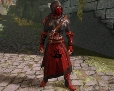 Dark Brotherhood shrouded armor redesign