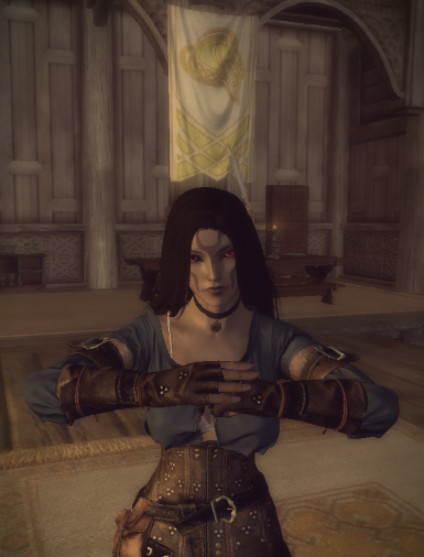 Azula Indoril - A Standalone Dunmer Mage Follower