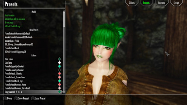 Cloe Elf-Nord Presets Please Loading by Mods this For Mod
