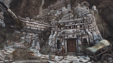 Frankly HD Markarth - The White City Redux