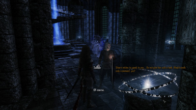Immersive College of Winterhold - do we talk too much?