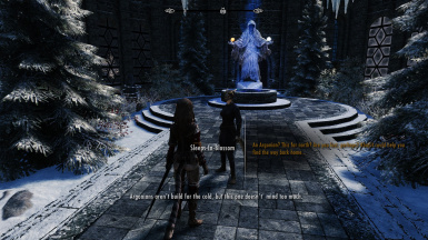 Immersive College of Winterhold - simple curiosity or a subtle threat?