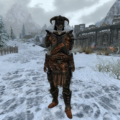Sensible Iron Armor - vanilla and CBBE BodySlide