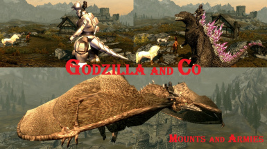 Godzilla and Co - Mounts and Armies