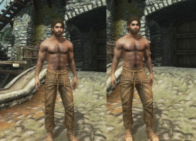 Mod to Make Male Meshes More Manly