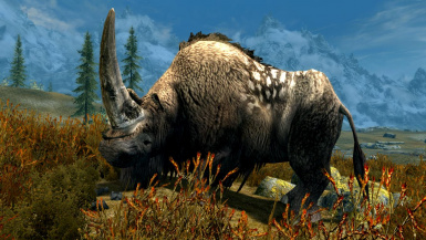 Woolly Rhinos- Mihail Monsters and Animals (mihail immersive add-ons- megafauna)