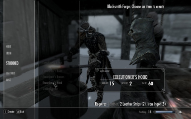 Craftable Executioner Armor - on this character - like ringmail