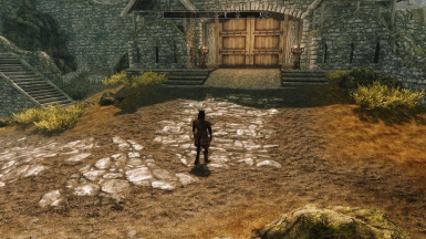 Whiterun Gate Vanilla